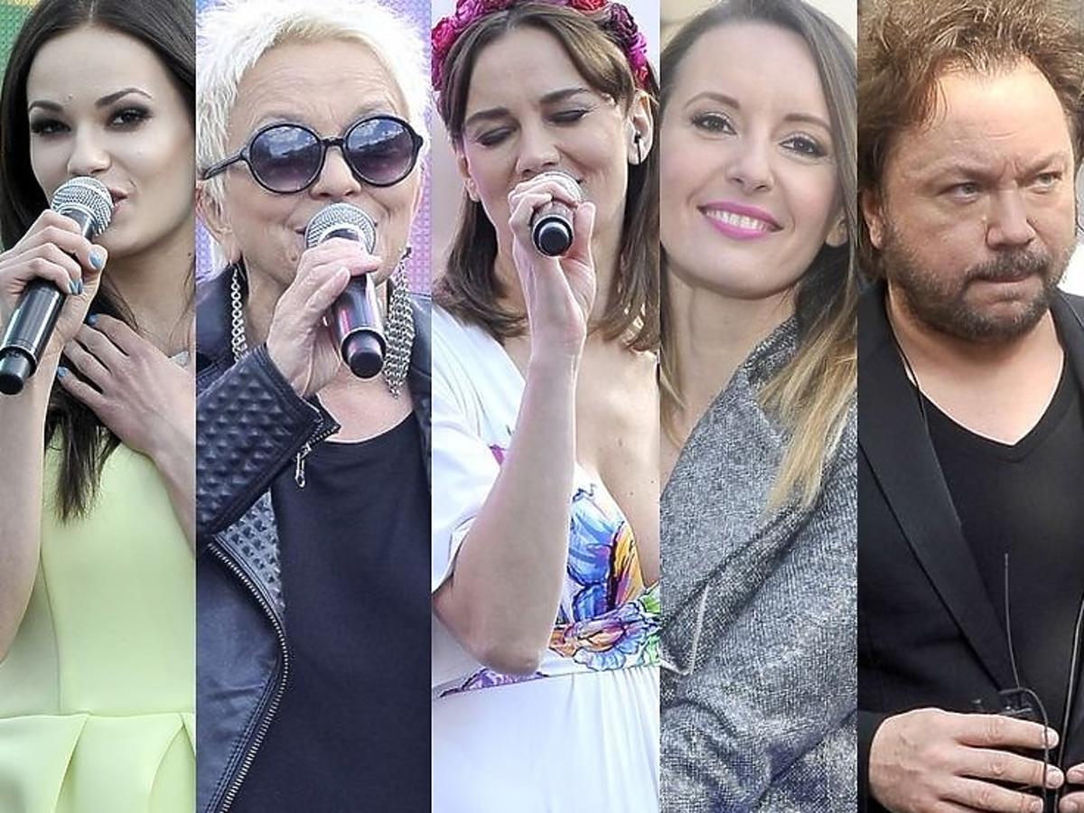 Gwiazdy na koncercie 25-lecia Wspólnoty Polskiej