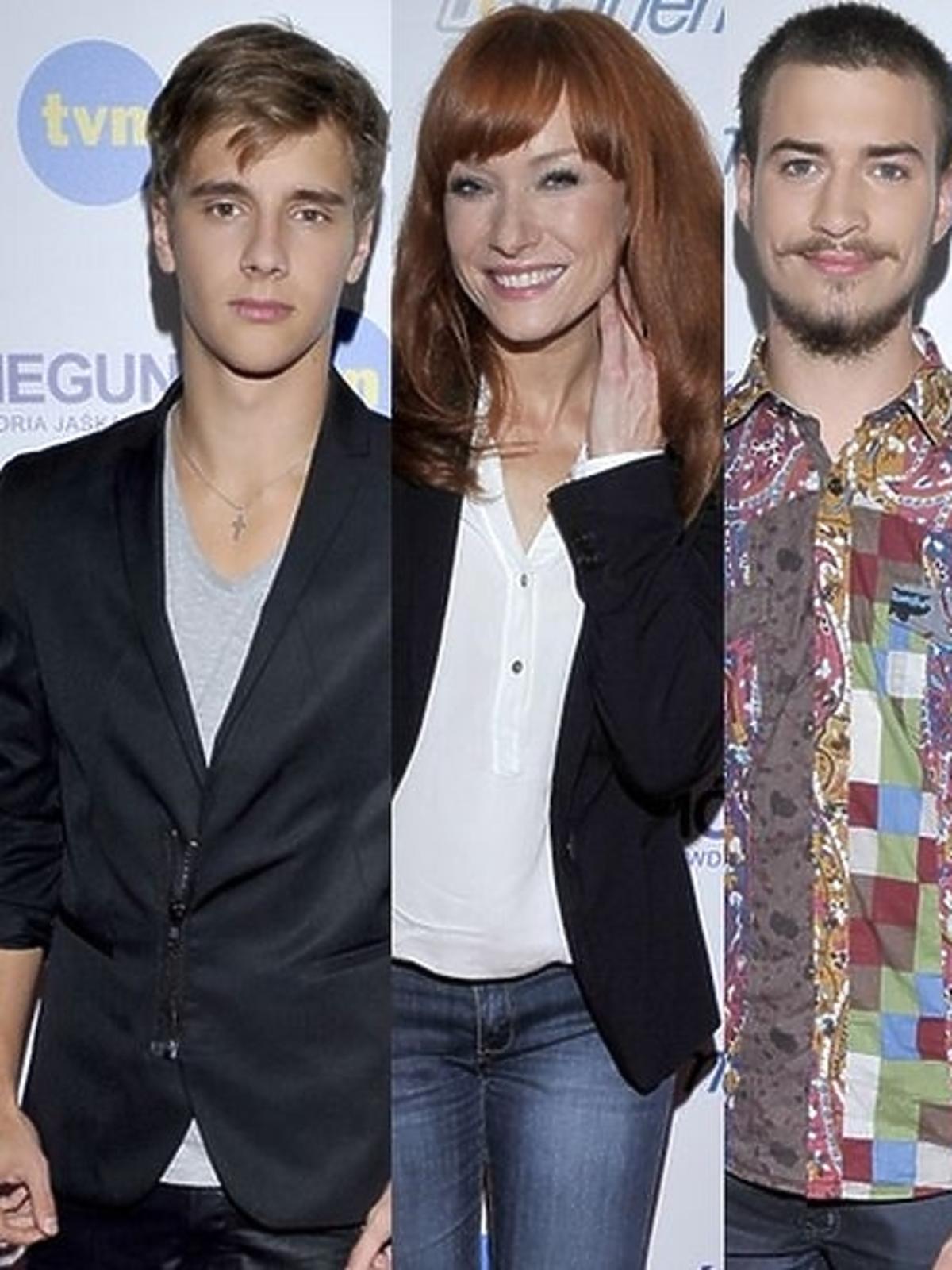 Gwiazdy na konferencji prasowej filmu