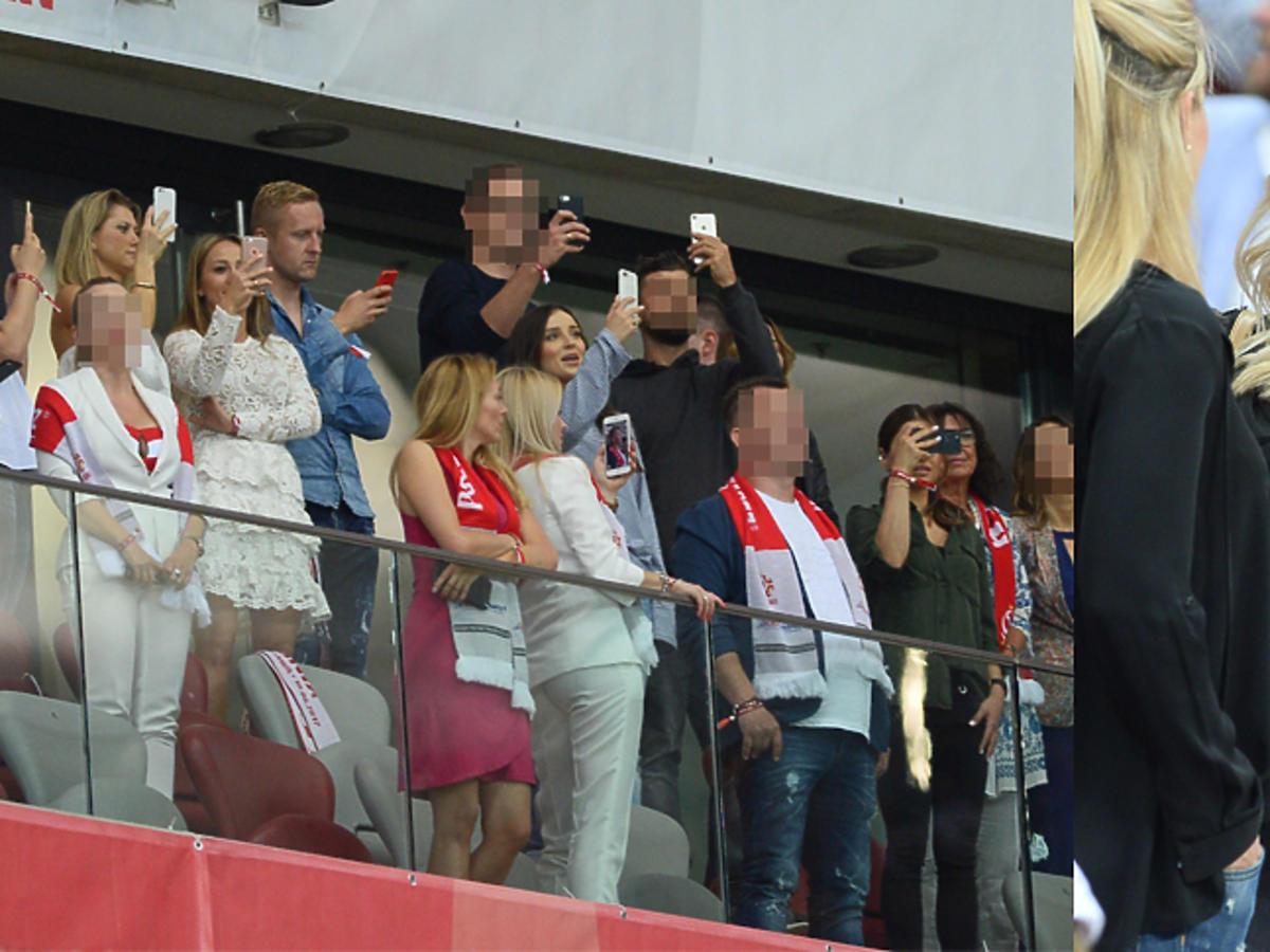 Gwiazdy na meczu Polska Rumunia