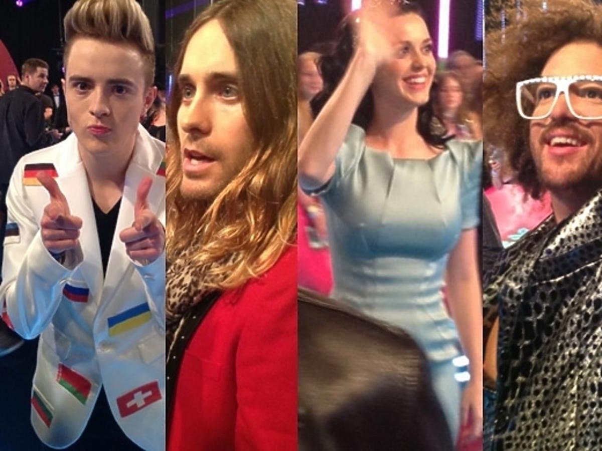 Gwiazdy na MTV EMA 2013