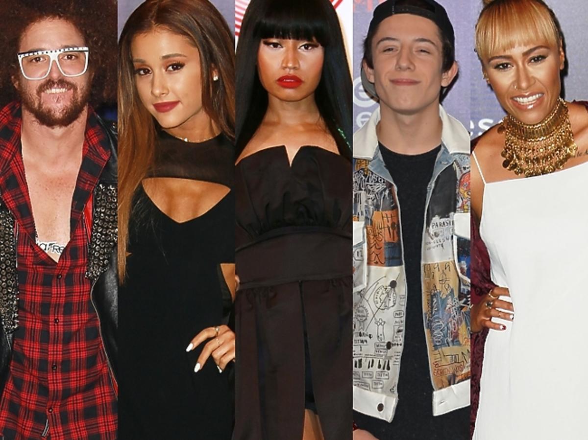 Gwiazdy na MTV EMA 2014 w Glasgow