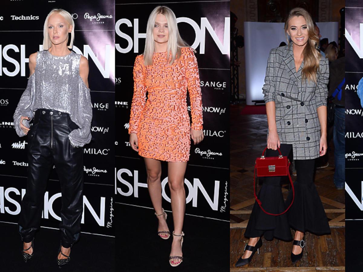 Gwiazdy na  Nagrody Fashion Magazine 2017