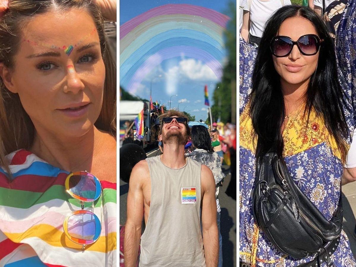 Gwiazdy na paradzie Równości Rozenek, Ciachorowski, Kayah