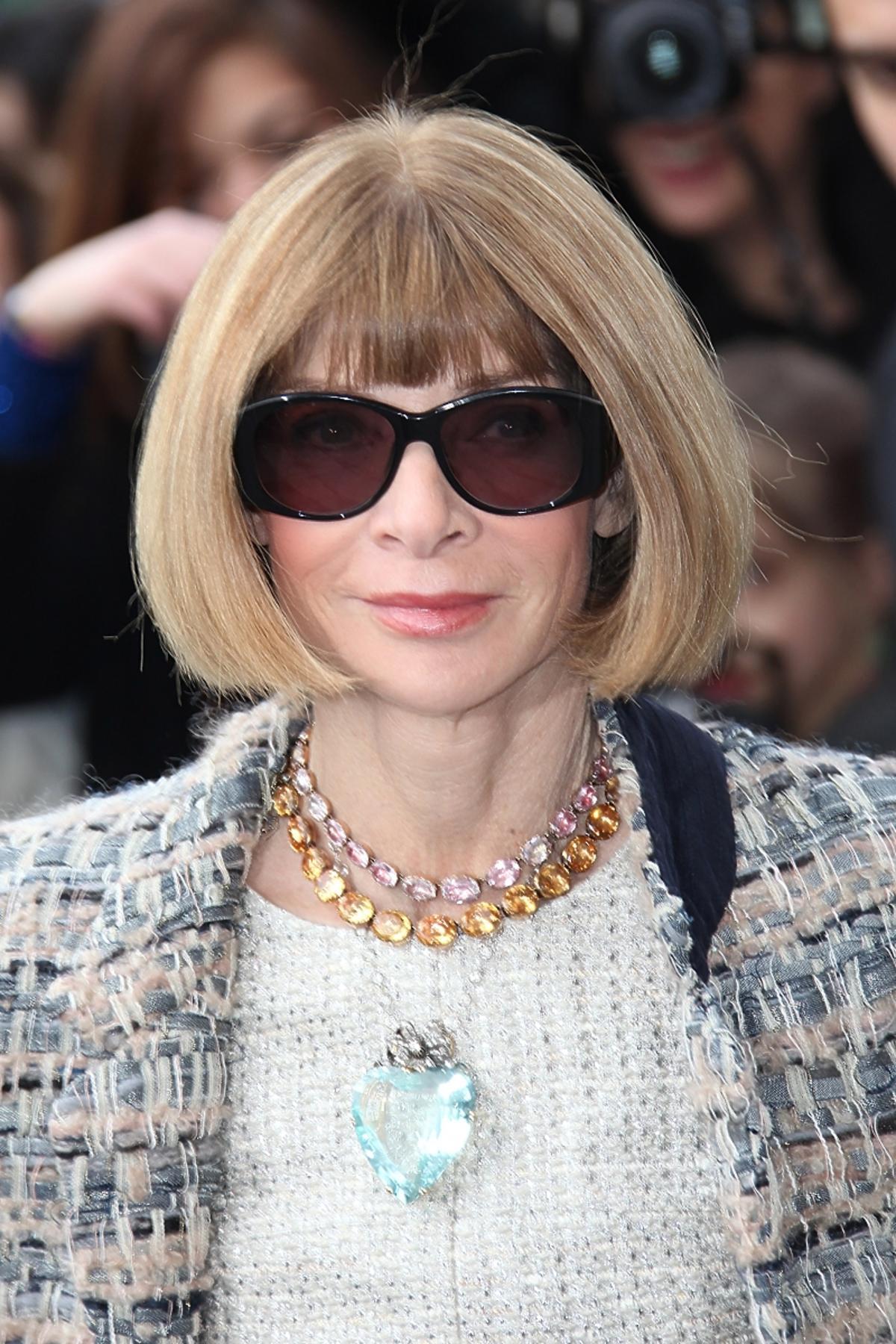 Gwiazdy na pokazie Chanel jesień 2014: Anna Wintour
