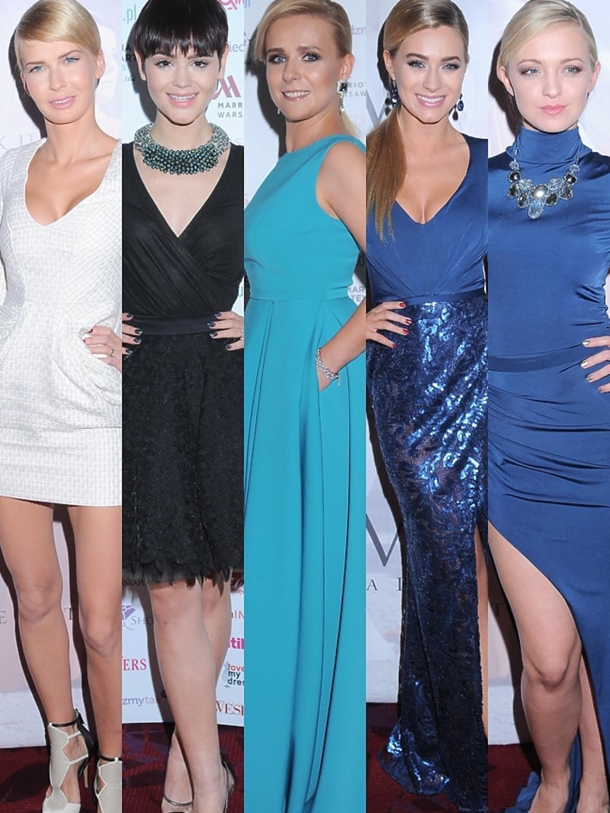 Gwiazdy na pokazie Violi Piekut podczas Wedding Show