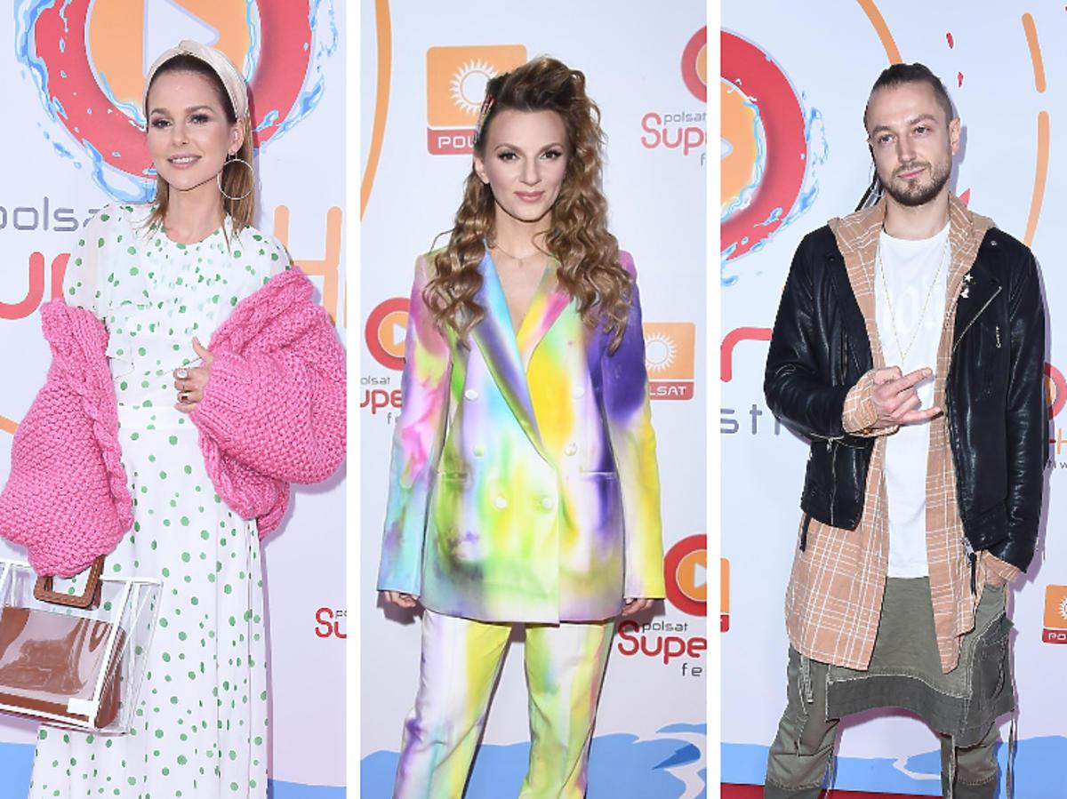 Gwiazdy na Polsat SuperHit Festiwal
