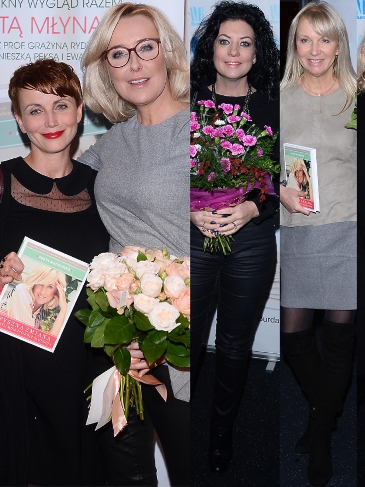 Gwiazdy na premierze książki Agaty Młynarskiej