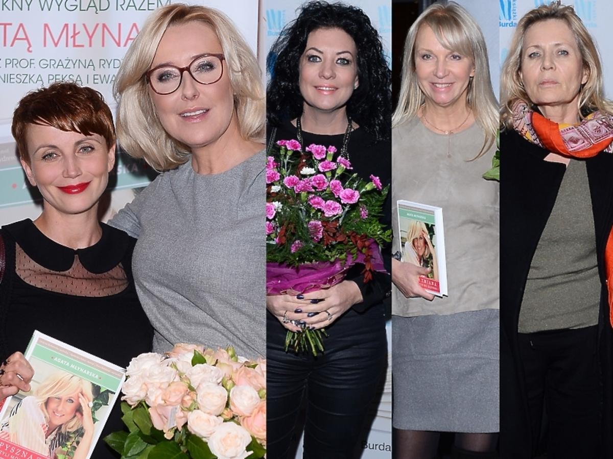 """Gwiazdy na premierze książki Agaty Młynarskiej """"Pyszna zmiana, czyli moje życie bez glutenu"""""""