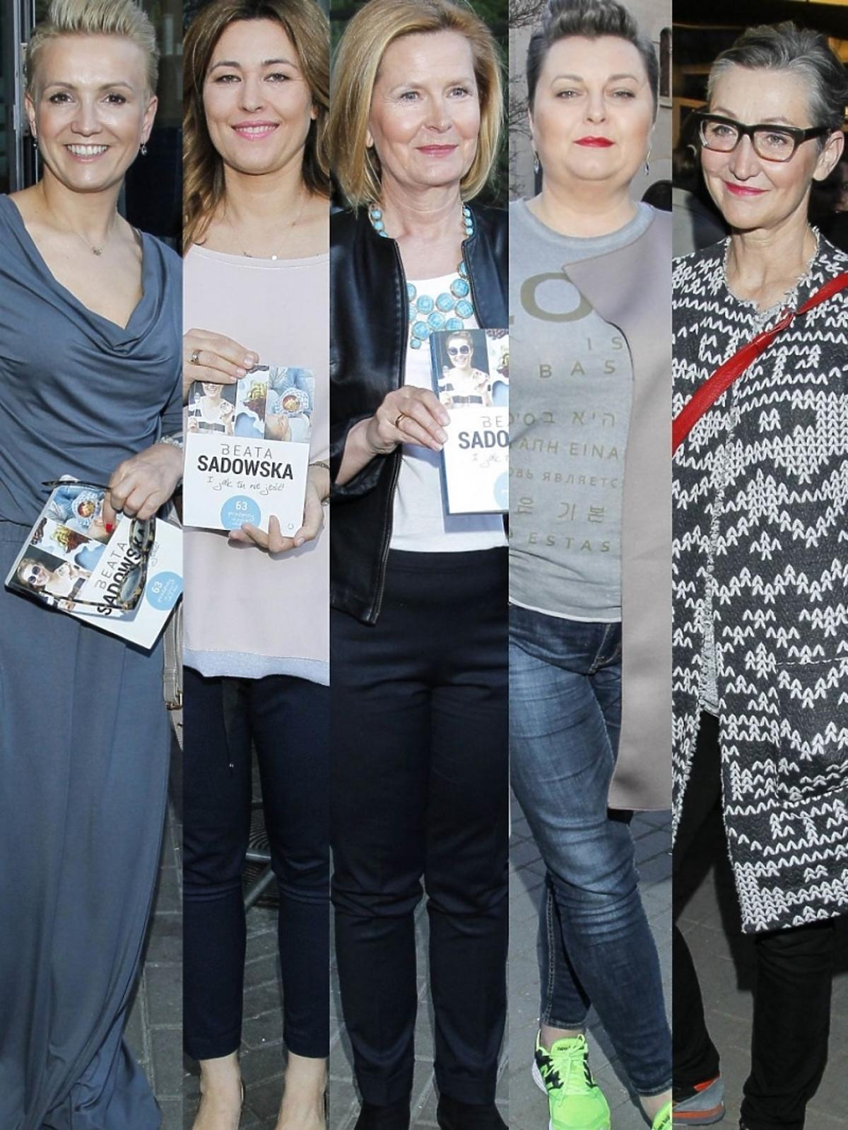 Gwiazdy na premierze książki Beaty Sadowskiej