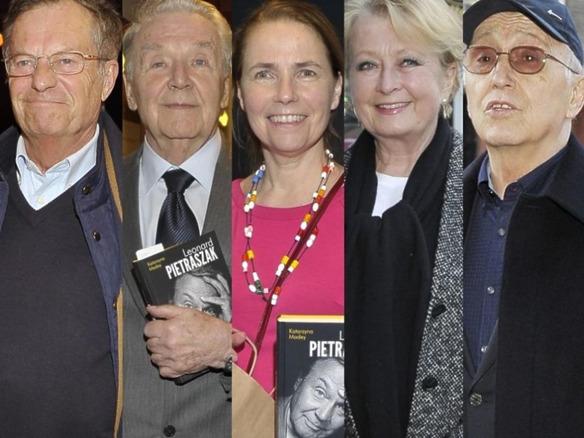 Gwiazdy na premierze książki Leonarda Pietraszaka