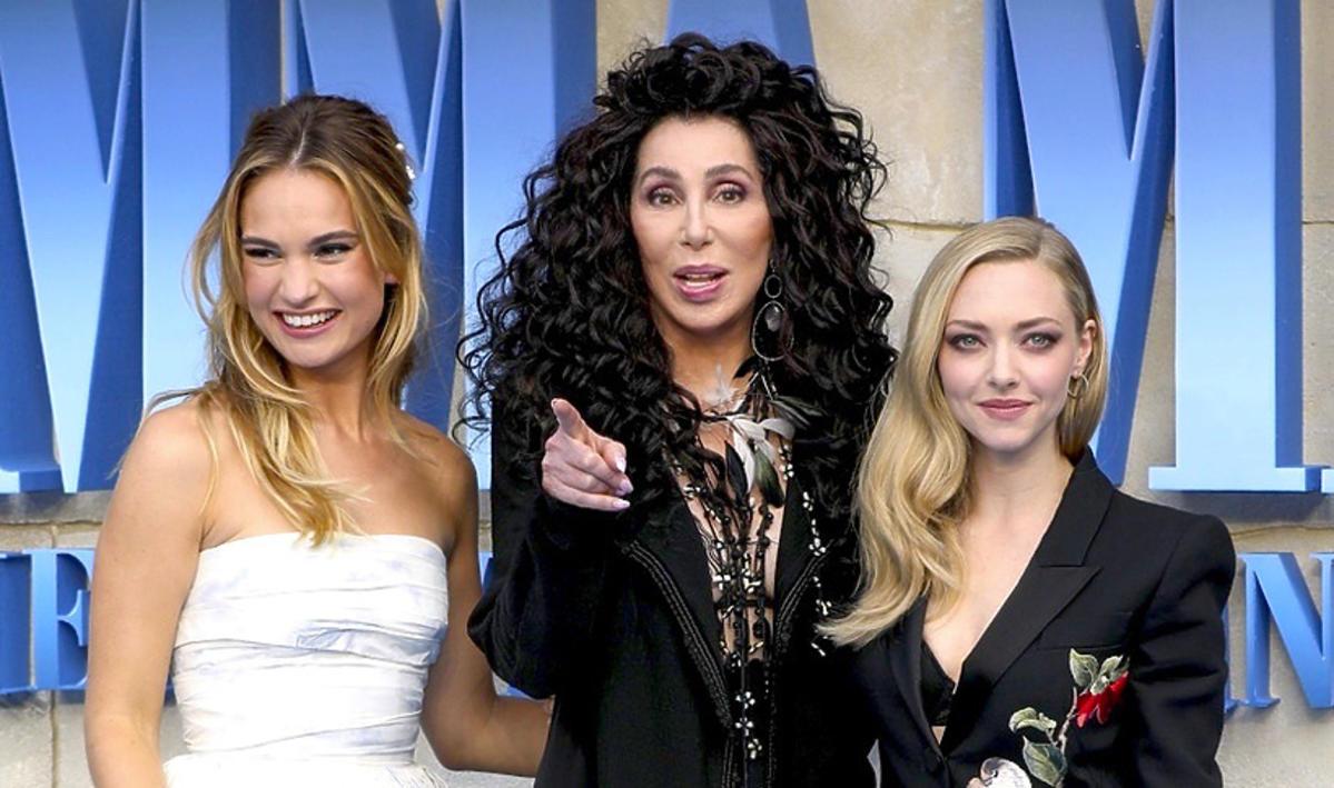 Gwiazdy na premierze Mamma Mia! Here We Go Again