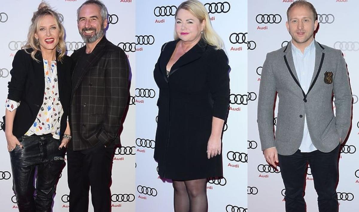 Gwiazdy na prezentacji nowych modeli Audi