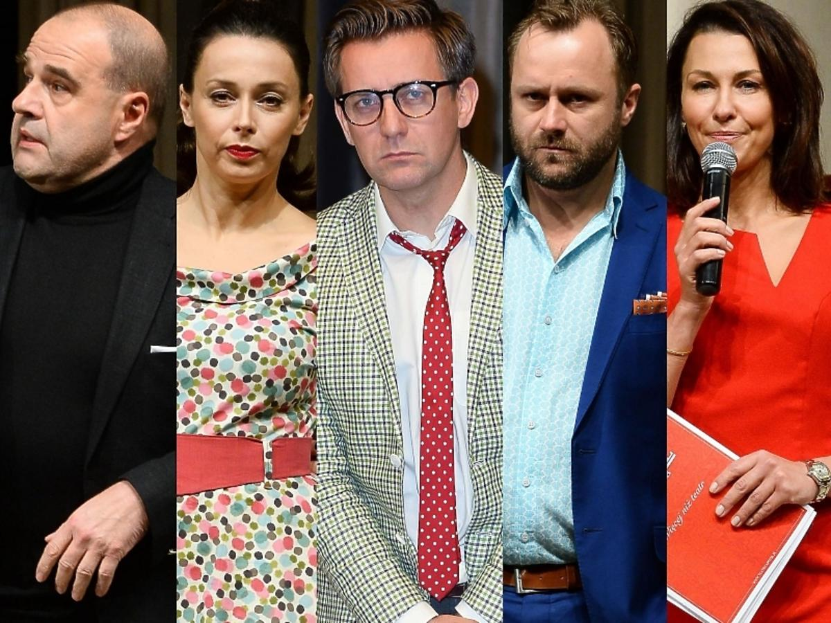 """Gwiazdy na próbie medialnej spektaklu """"Złodziej"""" w Teatrze Capitol"""