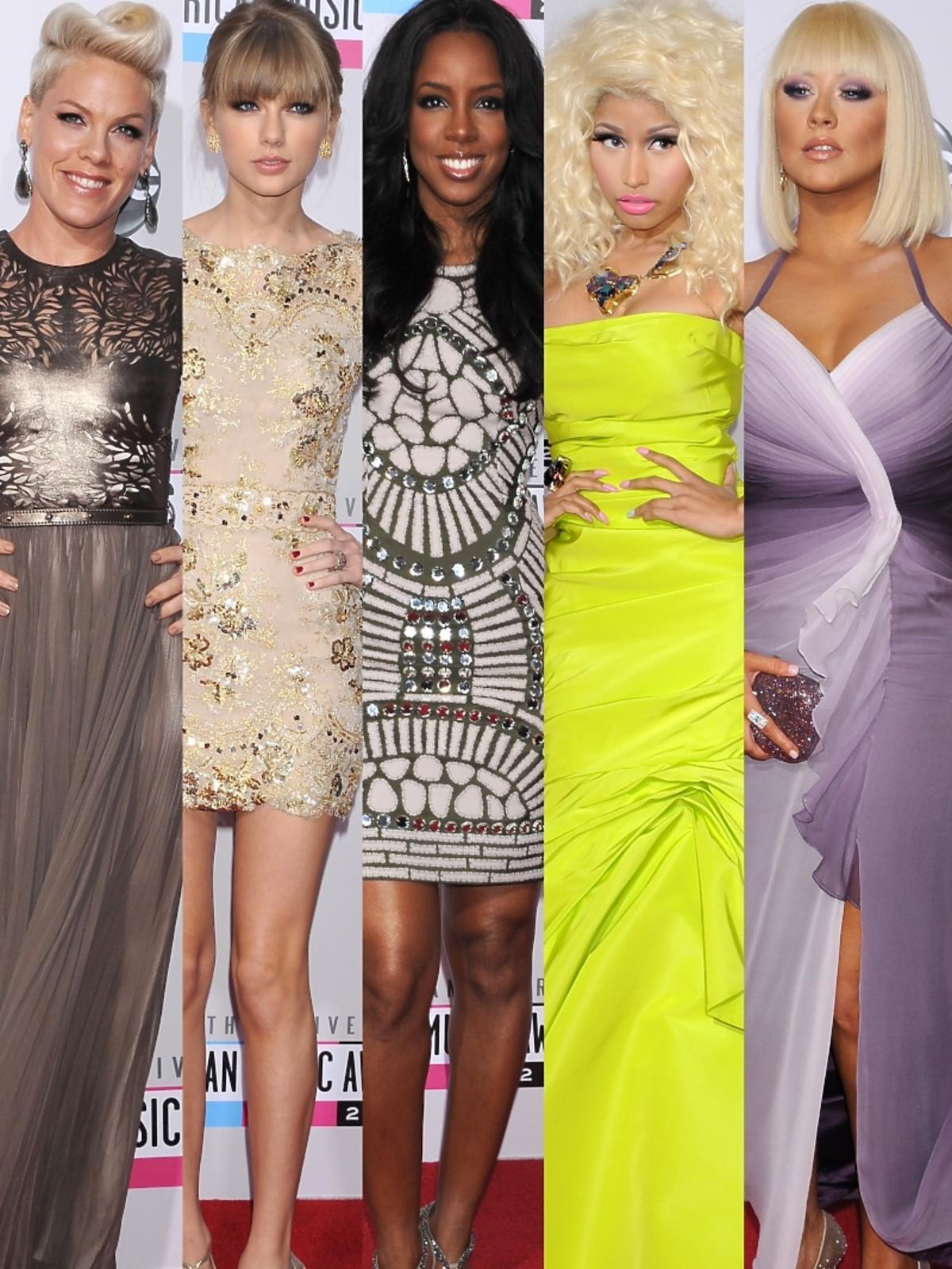 Gwiazdy na rozdaniu nagród American Music Awards