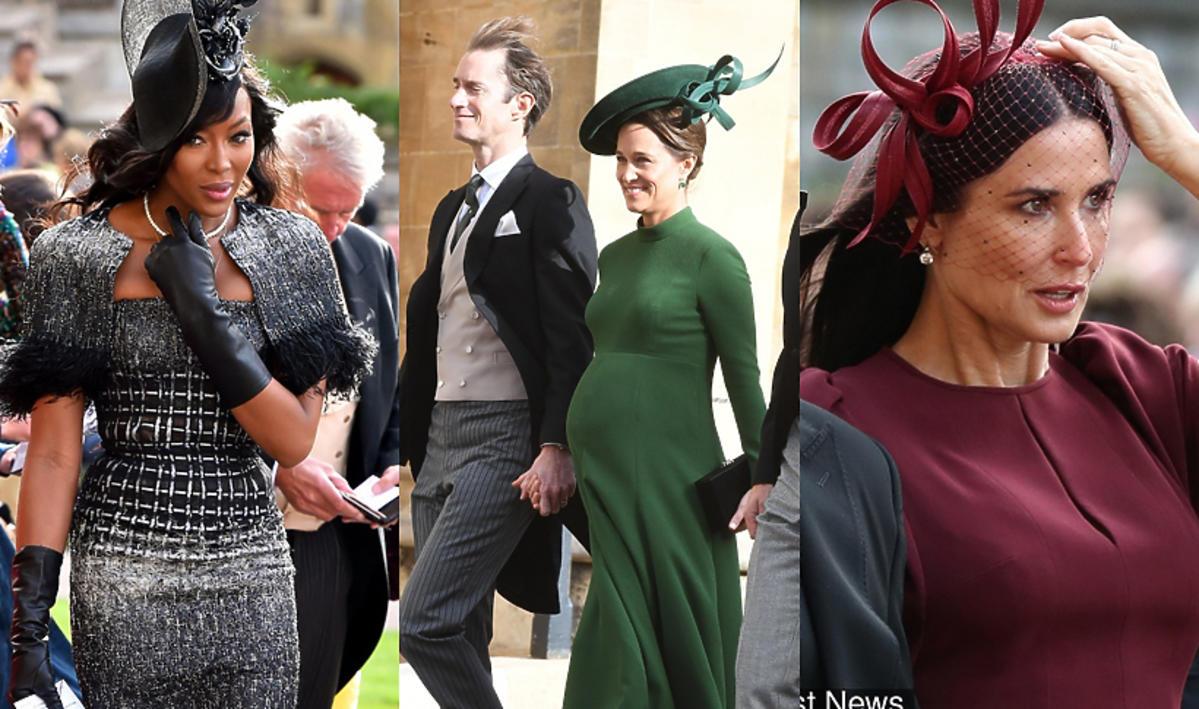 Gwiazdy na ślubie księżniczki Eugenii