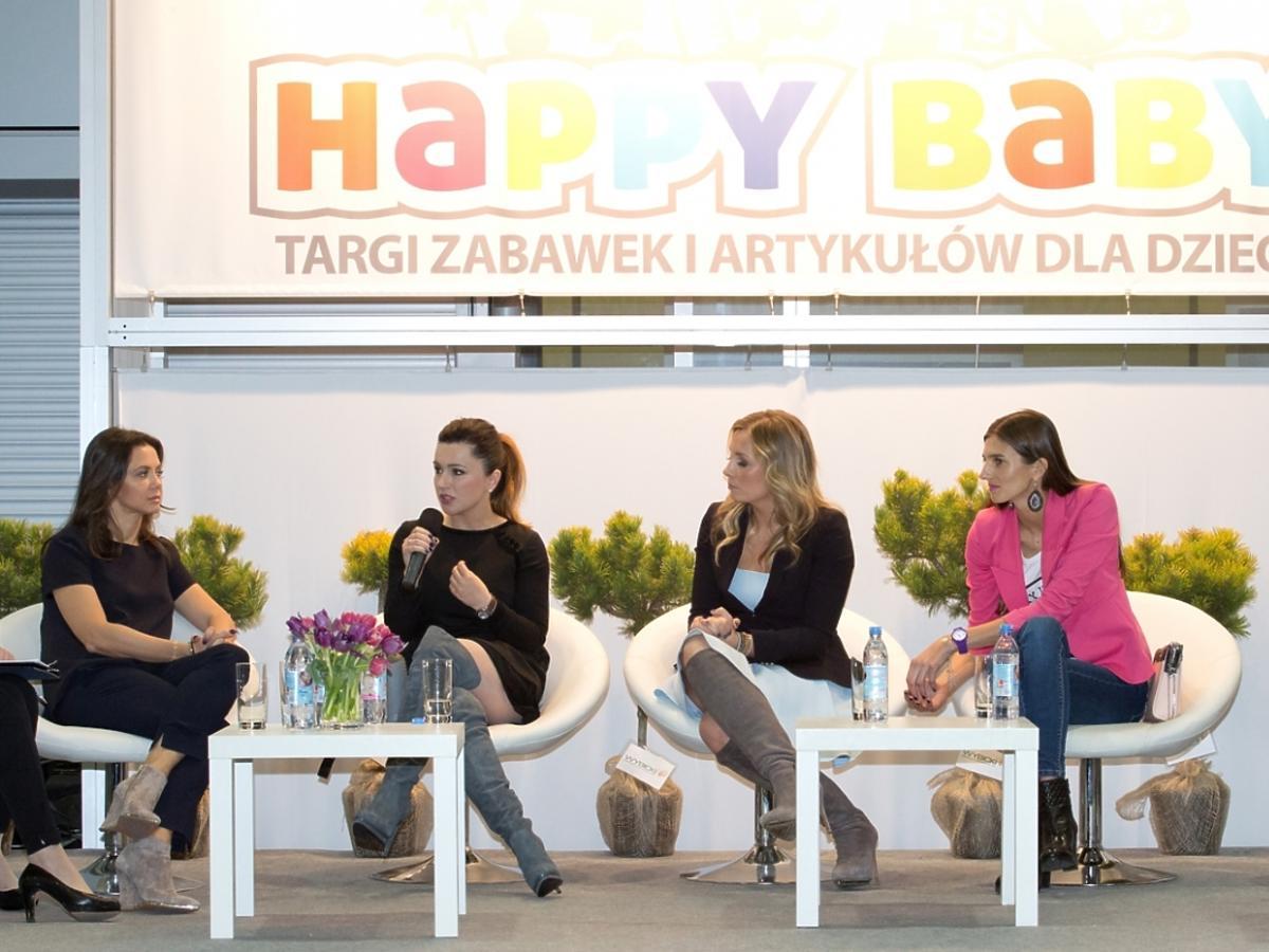 Gwiazdy na Targach Happy Baby Poznań