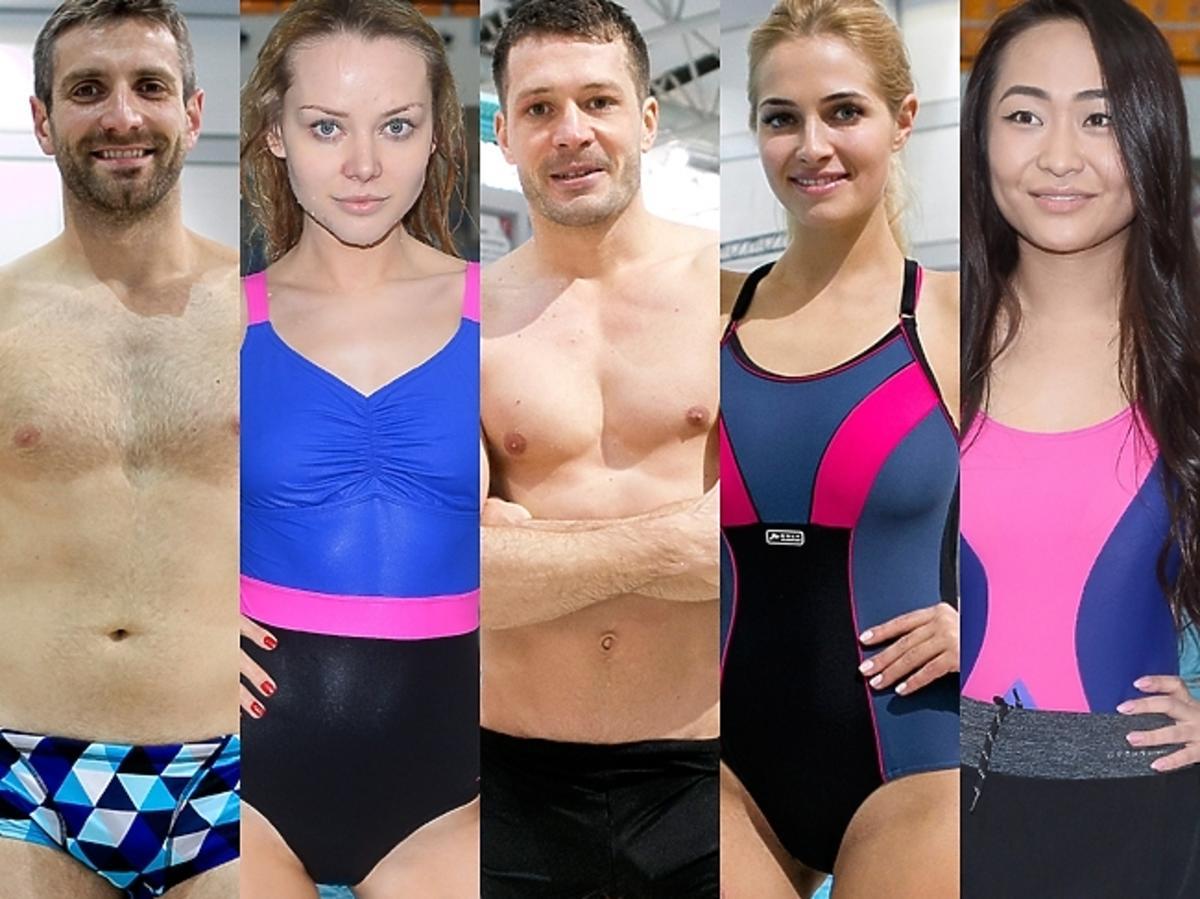 Gwiazdy na trenigach Celebrity Splash
