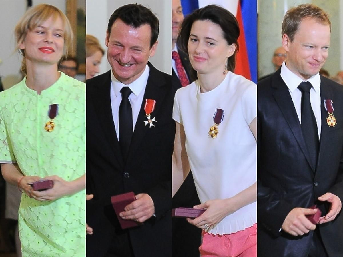 Gwiazdy nagrodzone przez prezydenta Bronisława Komorowskiego