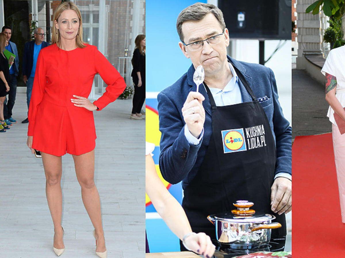 Gwiazdy podczas kulinarnych zawodów dziennikarzy