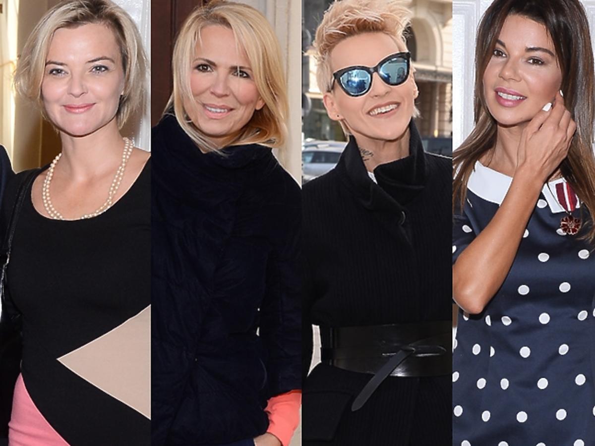 Gwiazdy podczas odbierania medali Gloria Artis w Ministerstwie Kultury