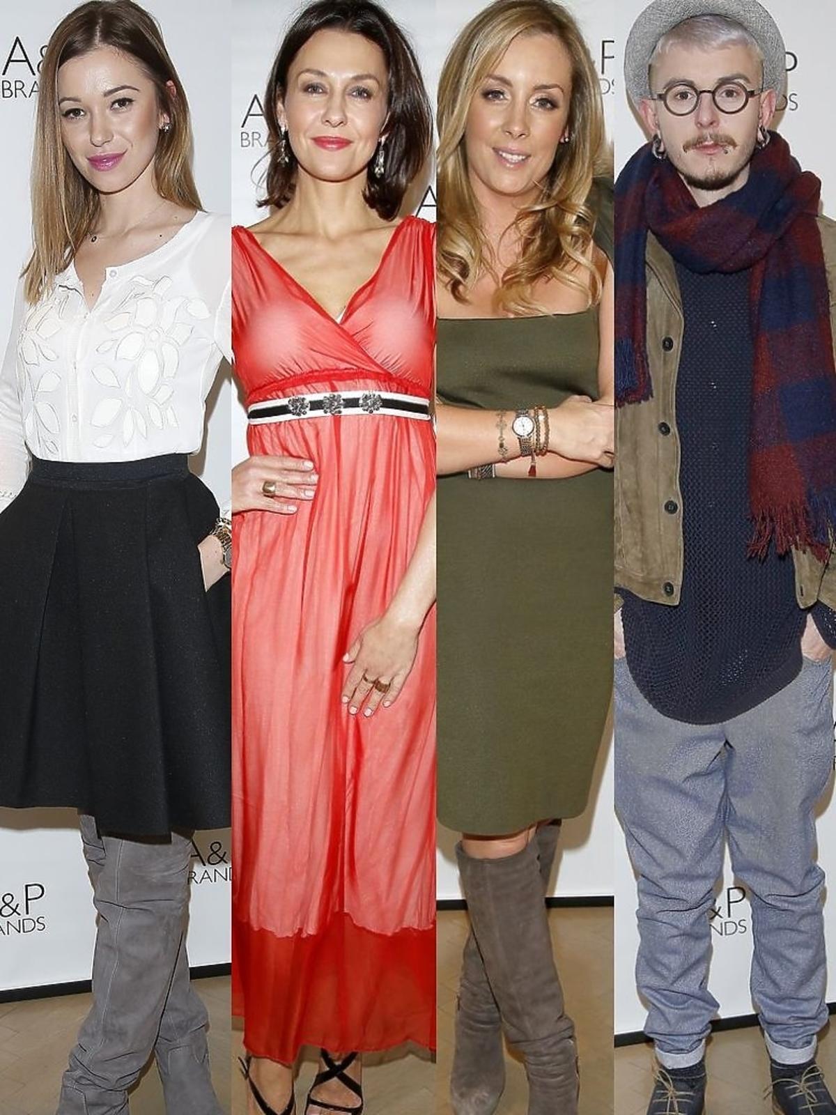 Gwiazdy podczas press day marki FRACOMINA