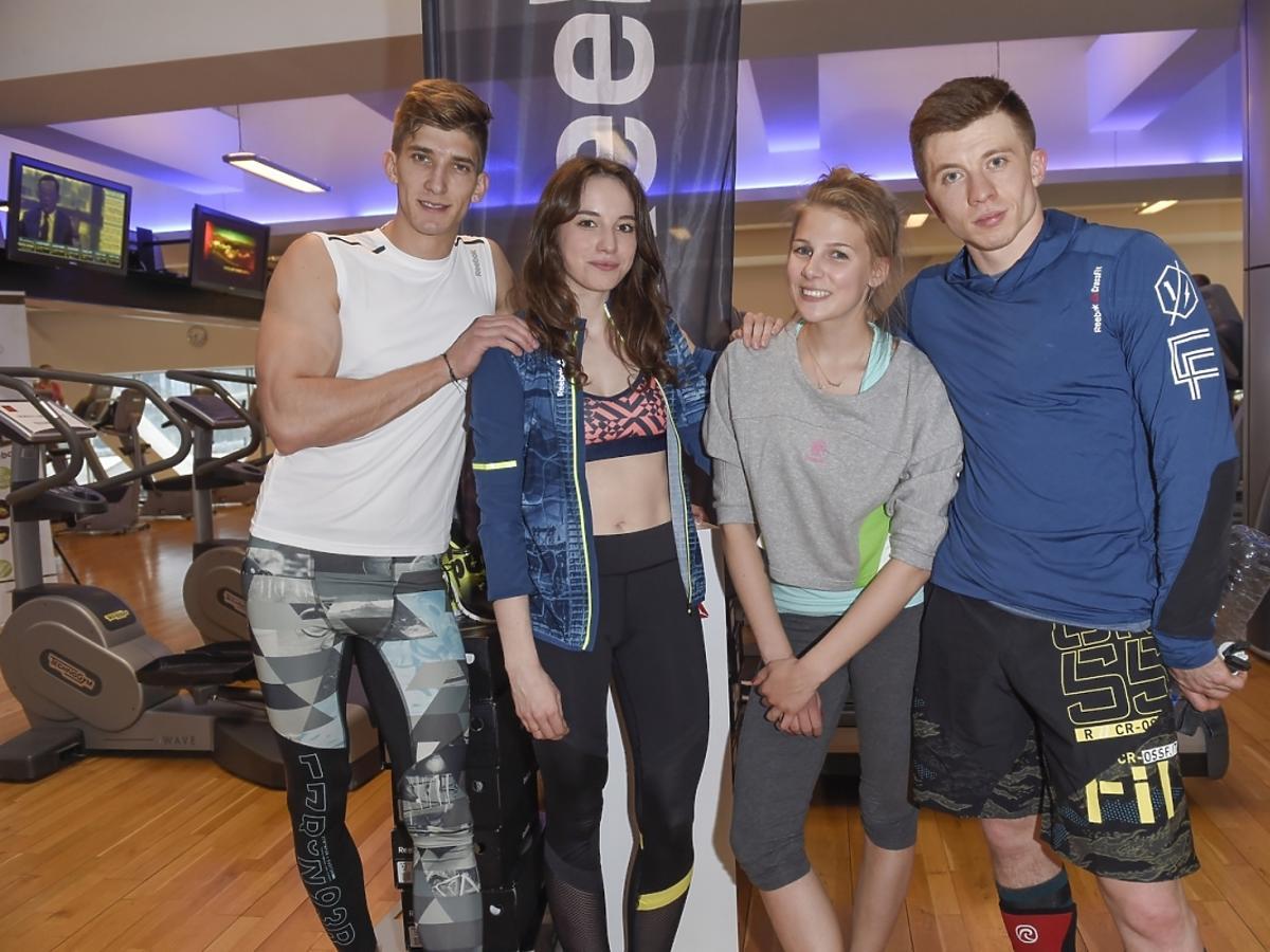 Gwiazdy podczas przygotowań do Reebok Fitness Camp 2015