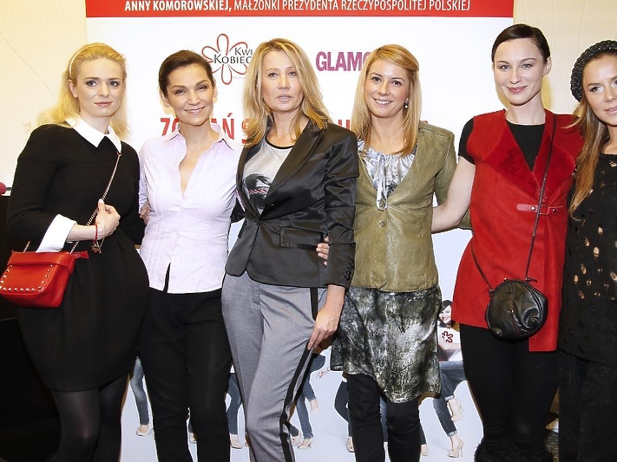Gwiazdy podczas spotkania Honeymoon dla Kwiatu Kobiecości