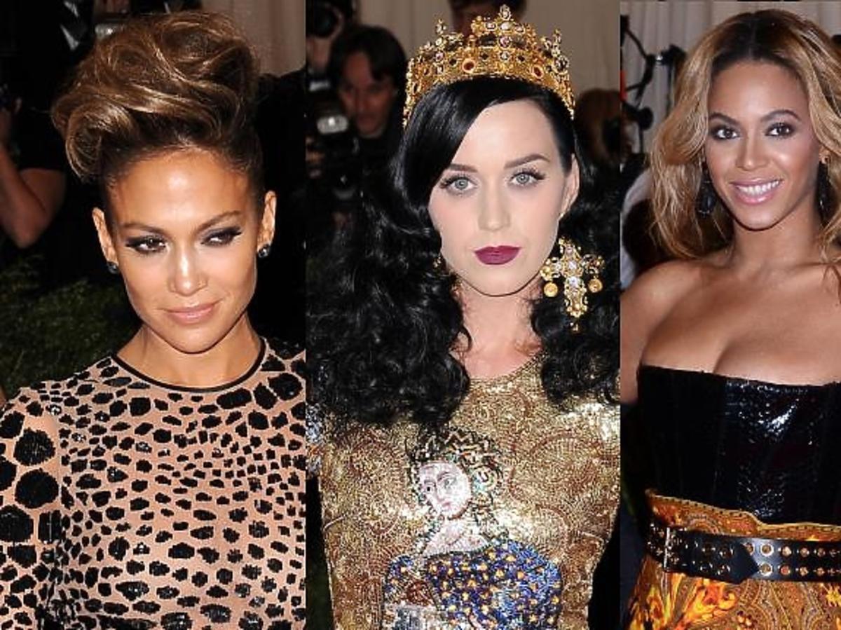 Gwiazdy pop na MET Gala 2013