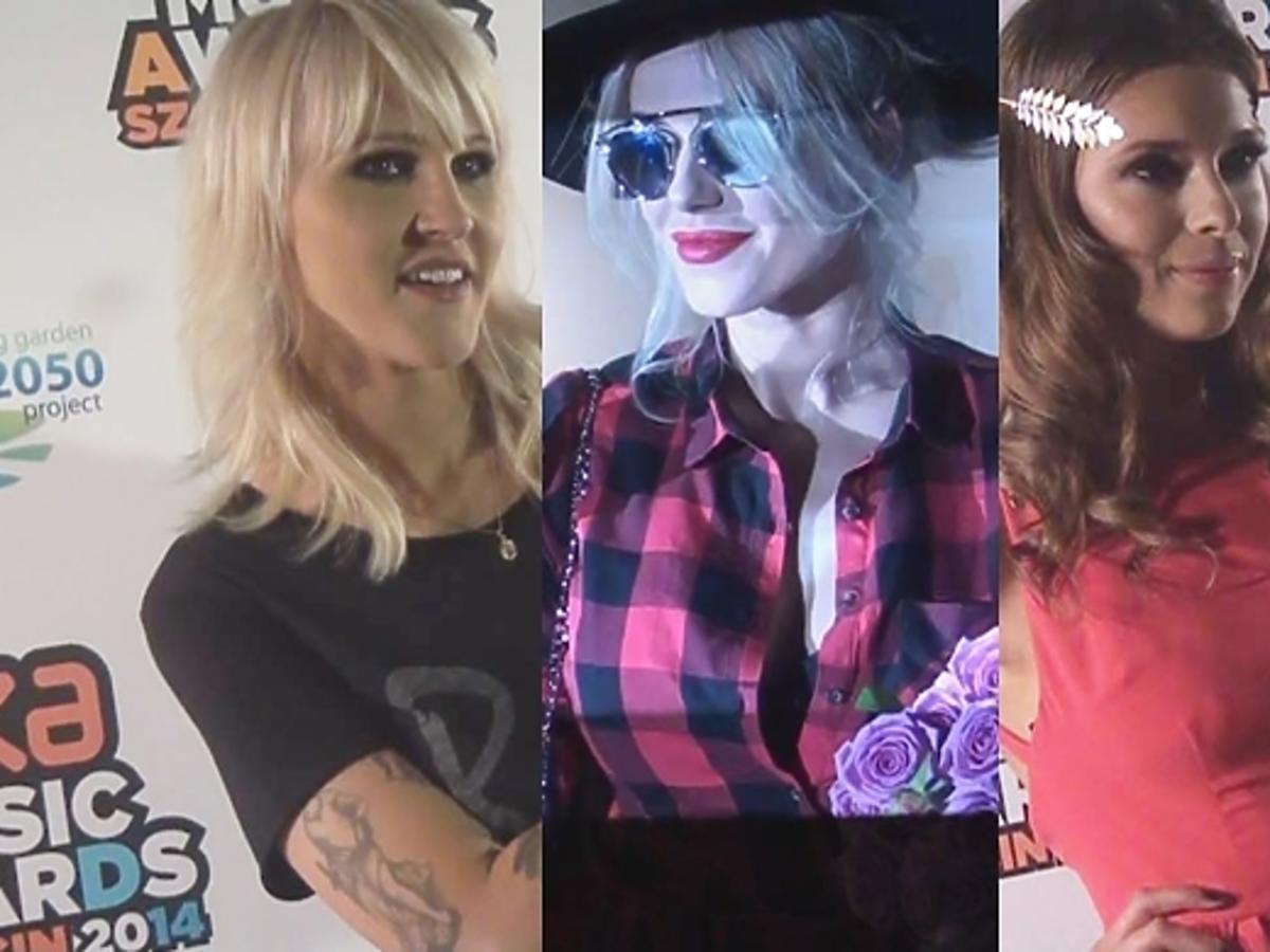 Gwiazdy pozują na EMA 2014