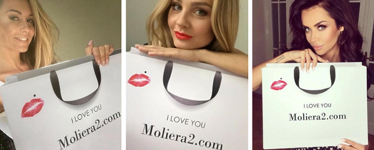 Gwiazdy przeciwko podróbkom - I love you Moliera2.com