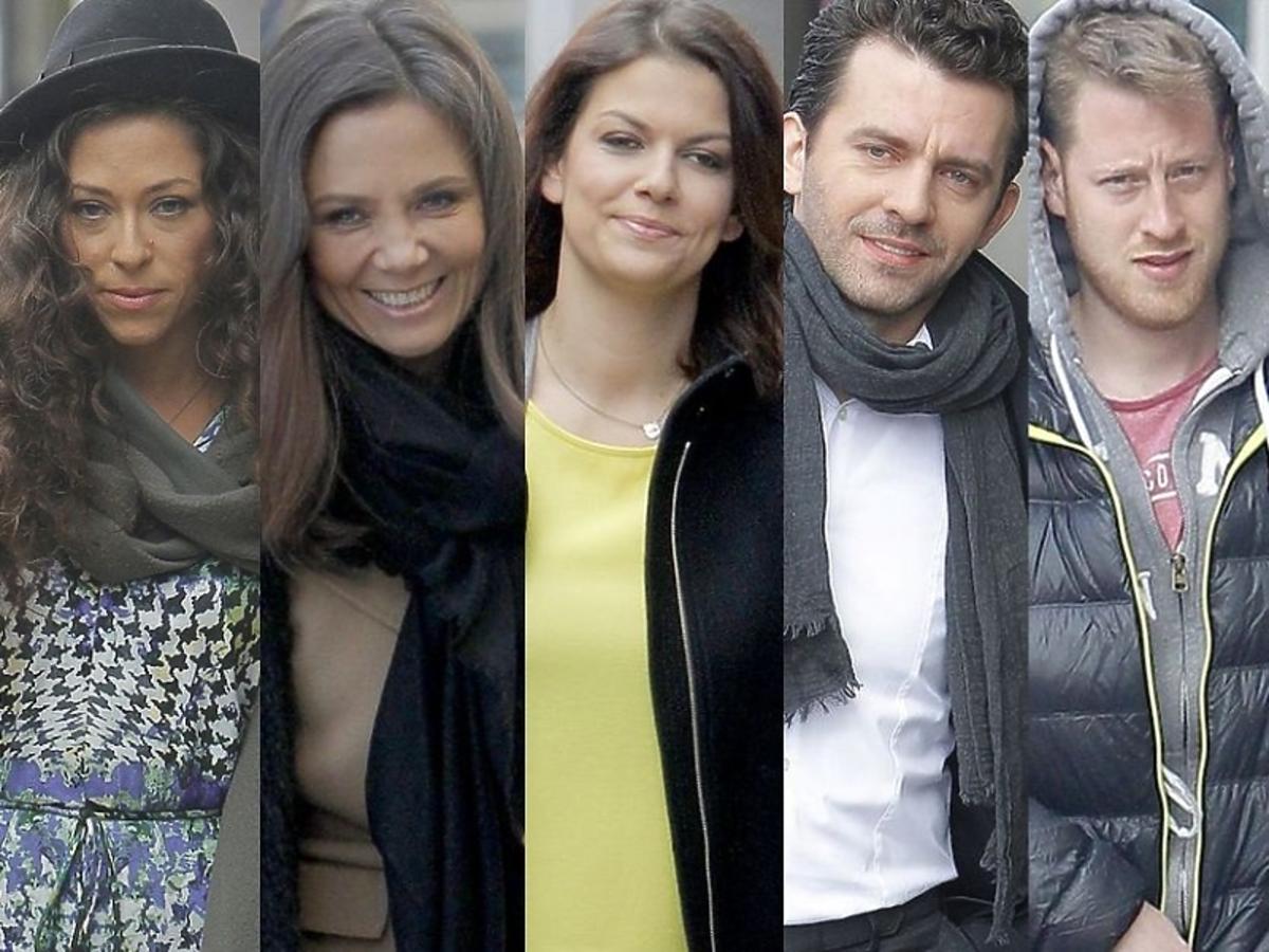 Gwiazdy przed studiem Dzień Dobry TVN