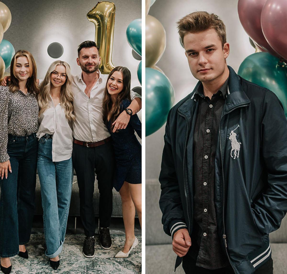 Gwiazdy TikToka i YouTube na urodzinach hotelu