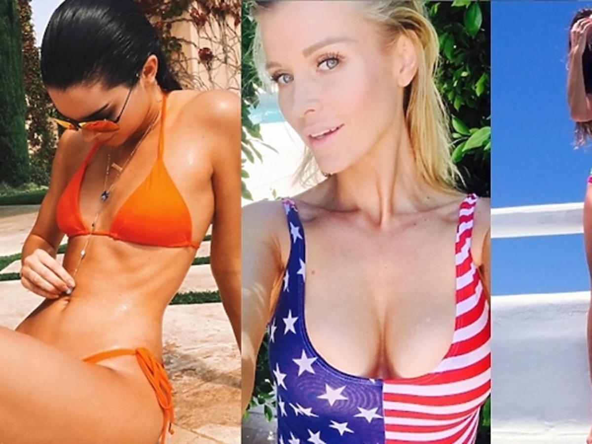 Gwiazdy w bikini Kendall Jenner, Joanna Krupa, Ewa Chodakowska