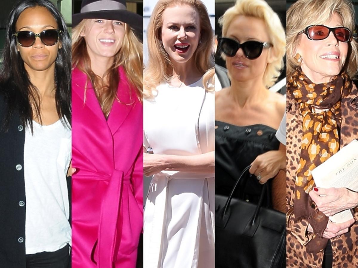 Gwiazdy w Cannes