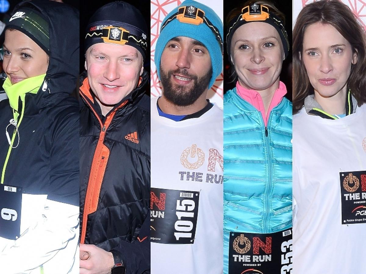 Gwiazdy w charytatywnym biegu On the Run