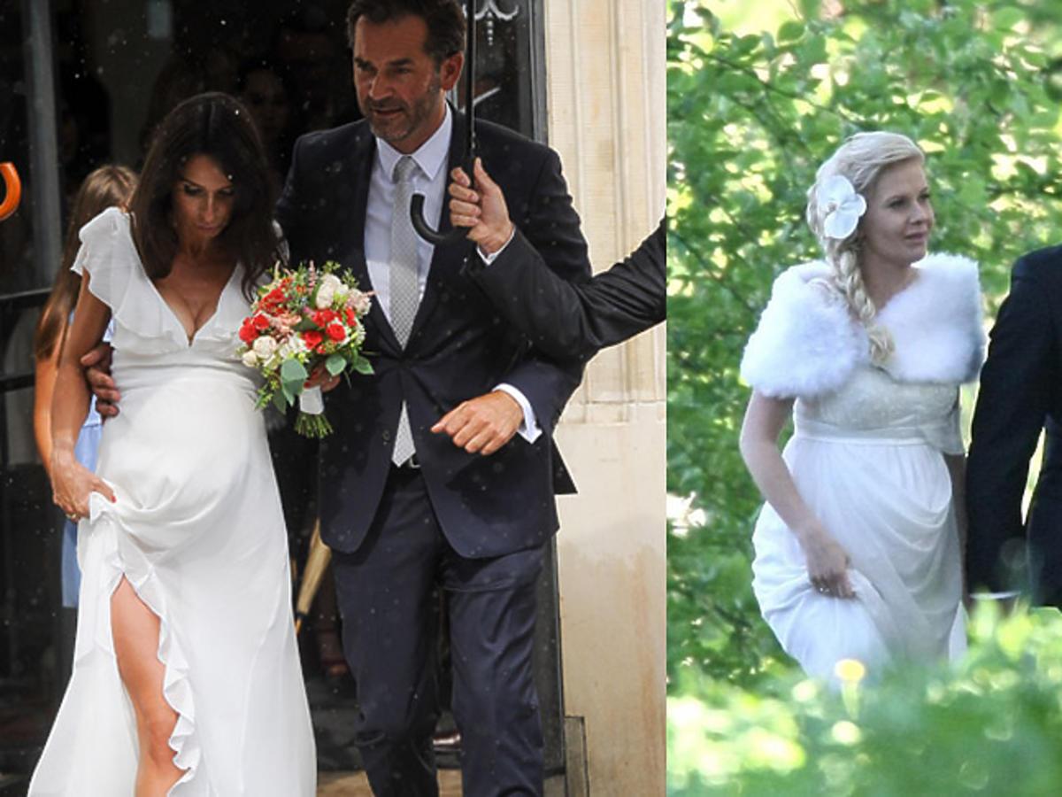 Gwiazdy w ciąży śluby