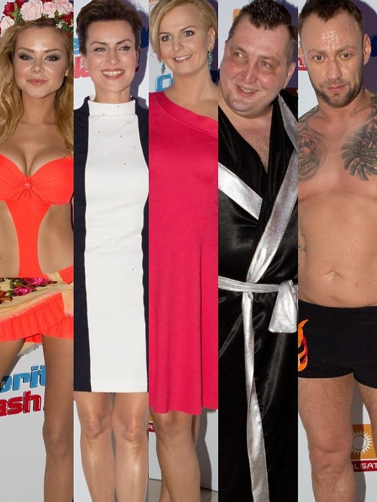 Gwiazdy w pierwszym odcinku Celebrity Splash