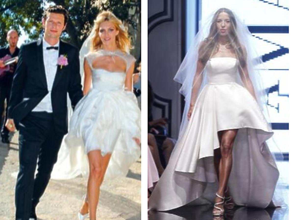 Gwiazdy w sukniach ślubnych High Low wideo