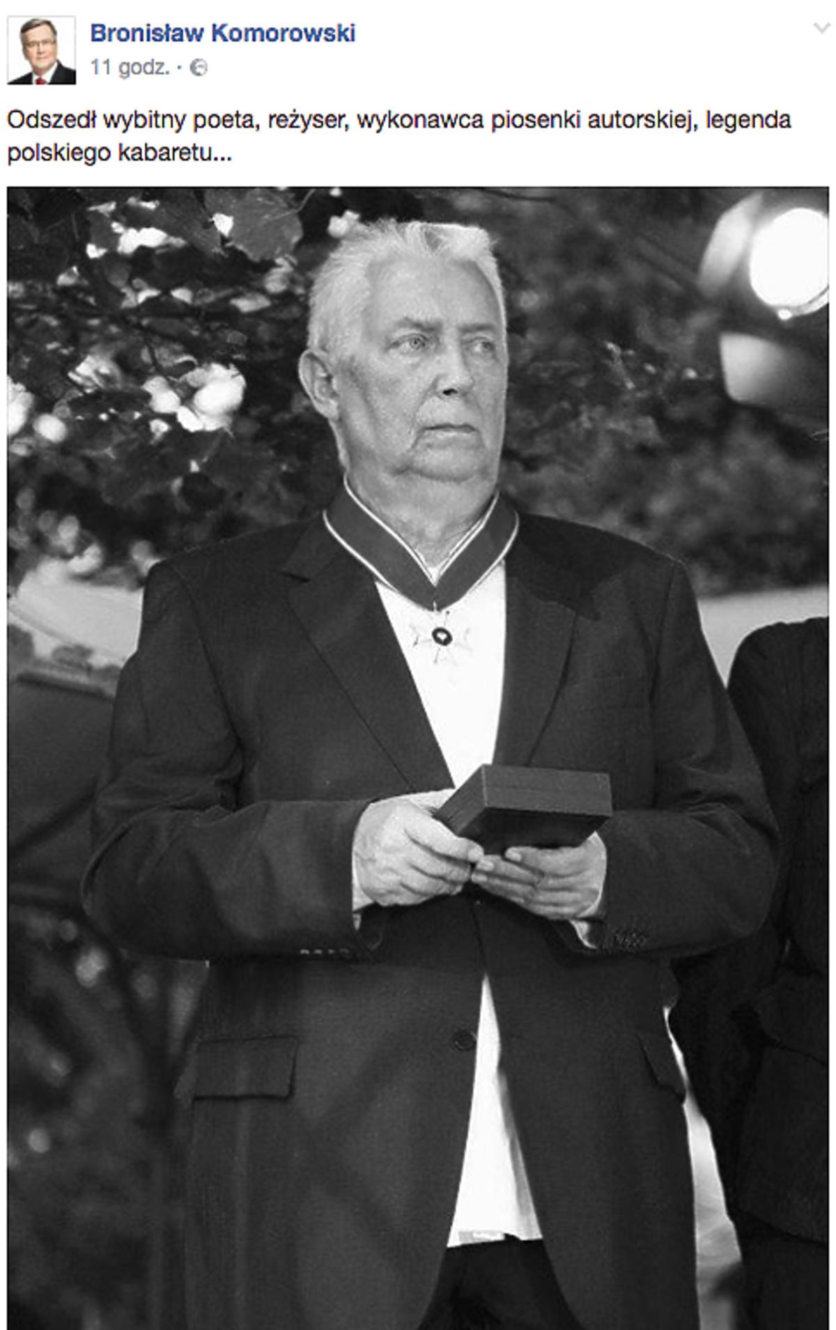 Gwiazdy żegnają Wojciecha Młynarskiego