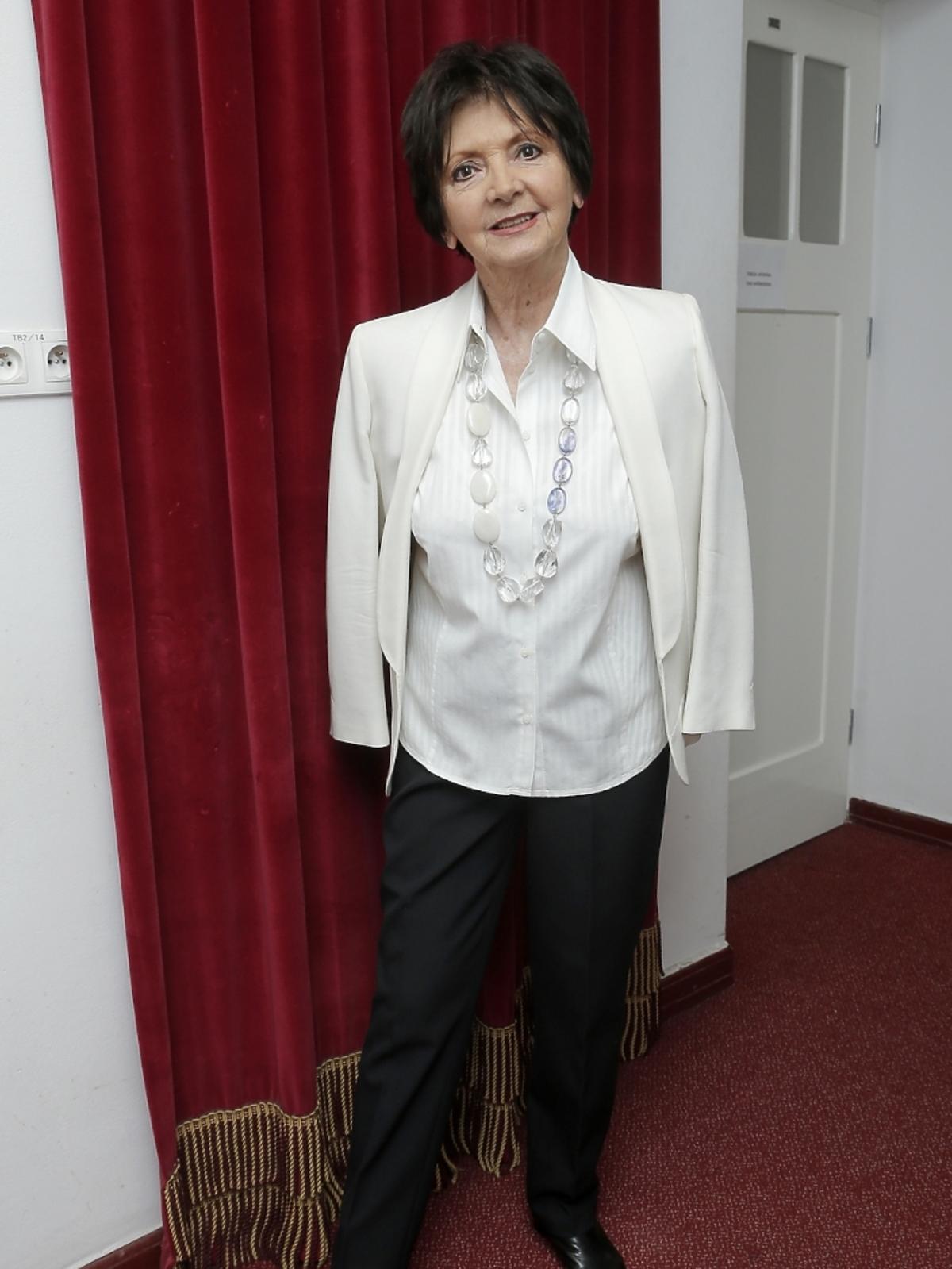 Halina Kunicka na koncercie