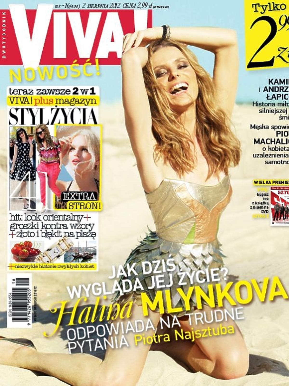Halina Mlynkova na okładce
