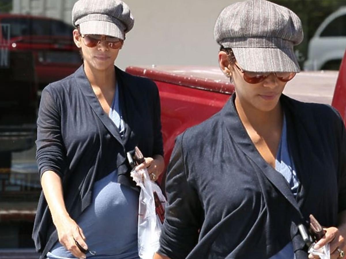 Halle Berry w 6 miesiącu ciąży