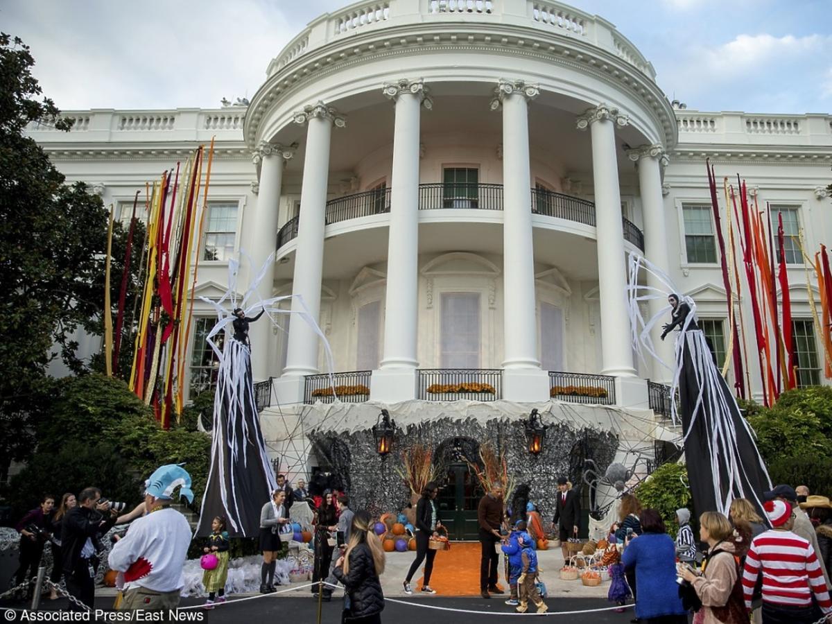 Halloween przed Białym Domem