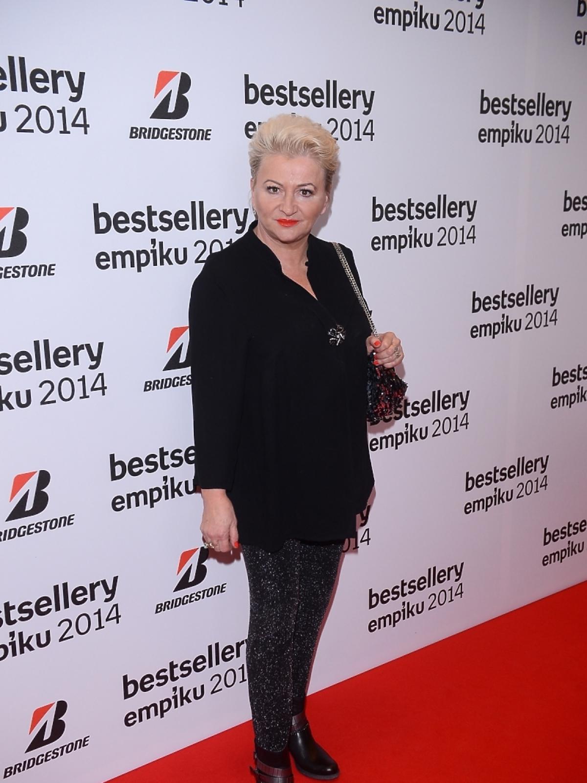 Hanna Bakuła na gali Bestsellery Empiku 2014