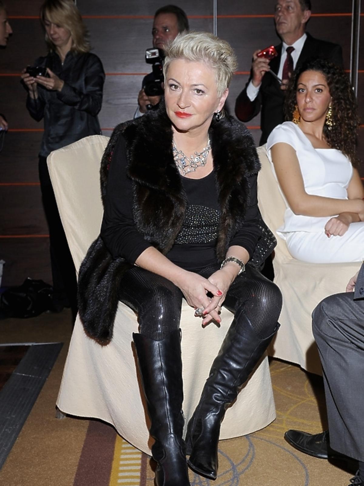 Hanna Bakuła na gali Luksusowa Marka Roku 2012