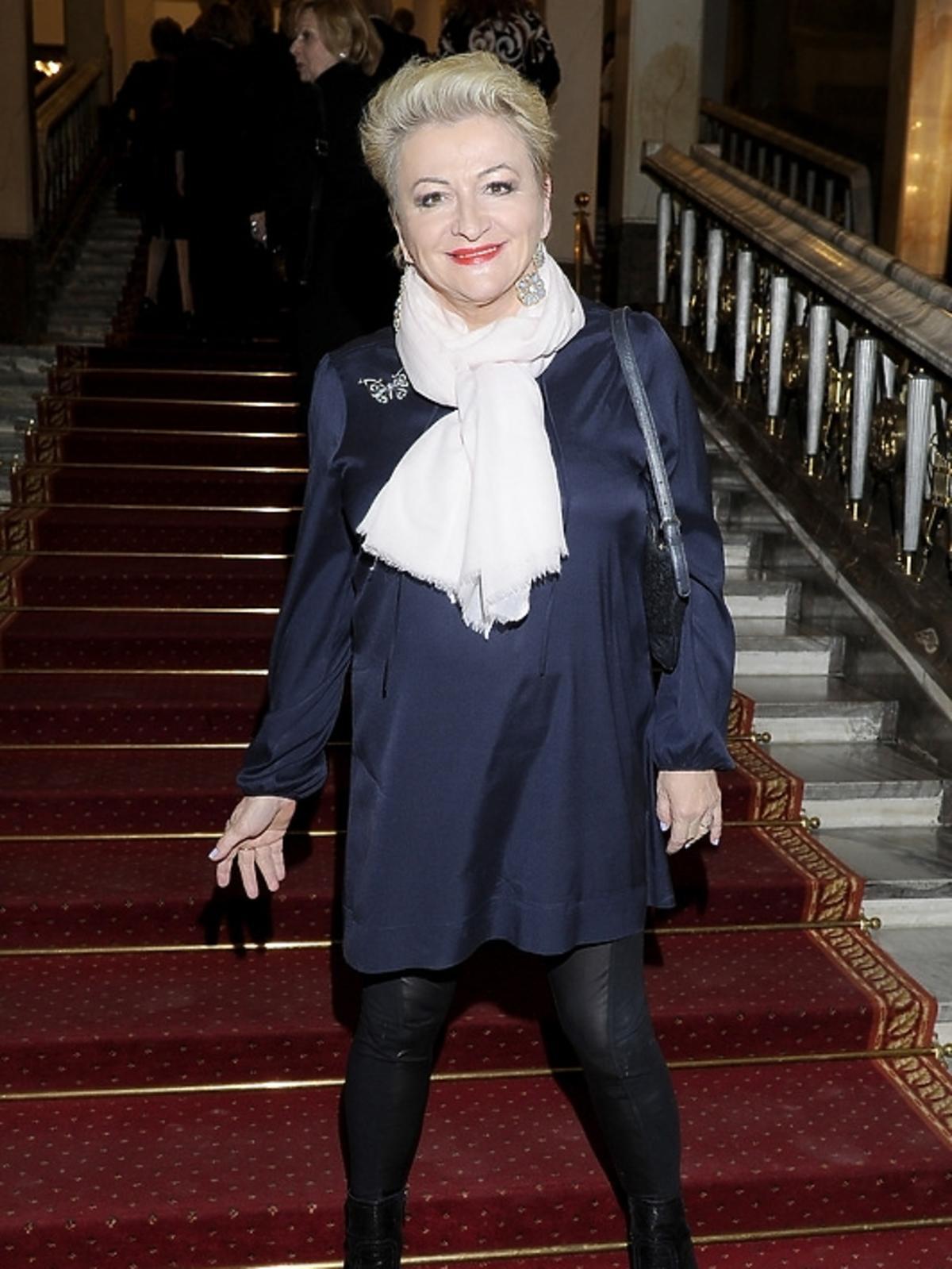 Hanna Bakuła na premierze opery
