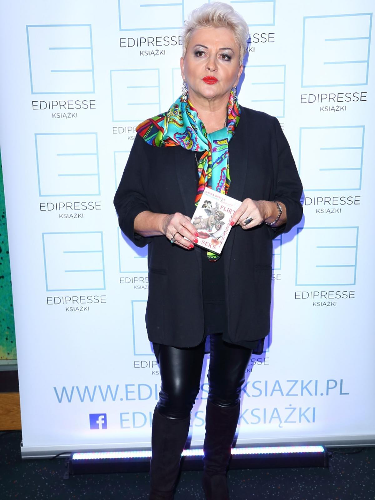 Hanna Bakuła na premierze swojej gry