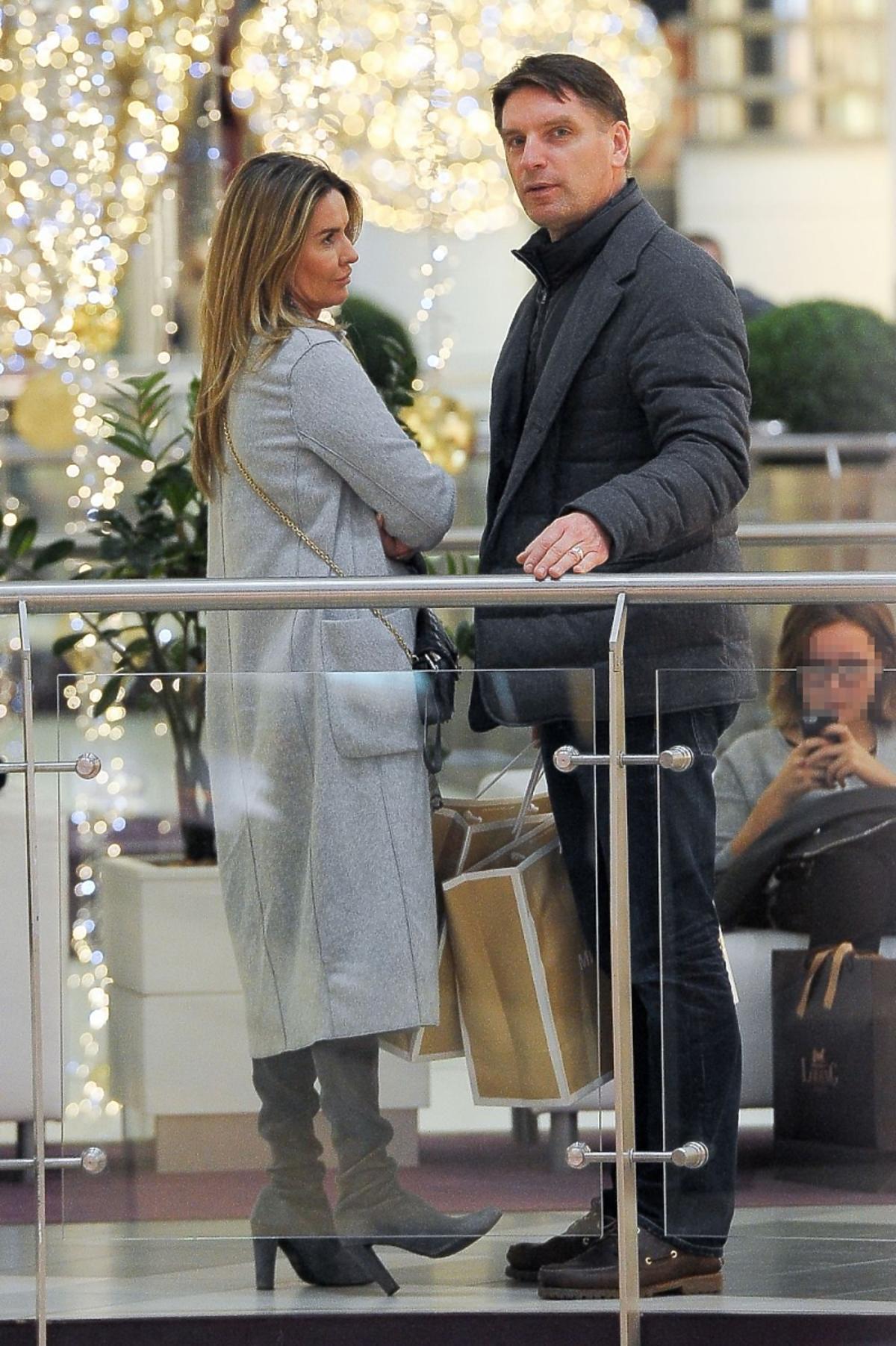 Hanna i Tomasz Lisowie na zakupach
