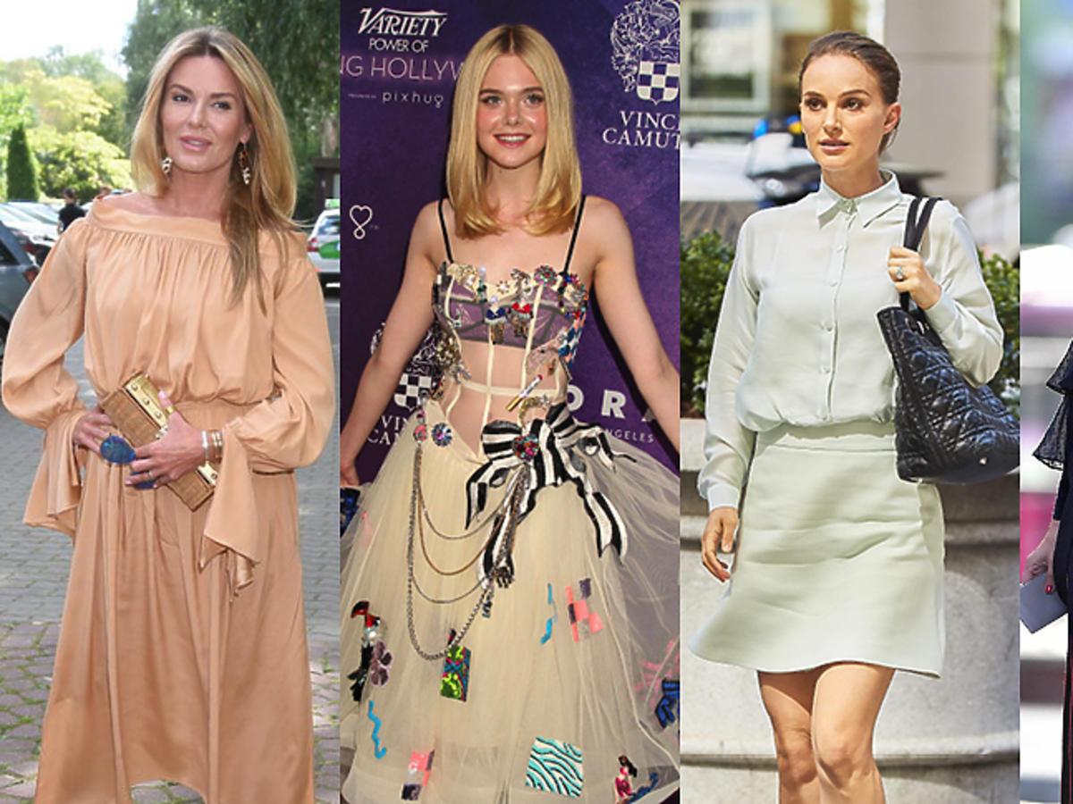Hanna Lis, Elle Fanning, Natalie Portman, Olivia Palermo w pięknych stylizacjach