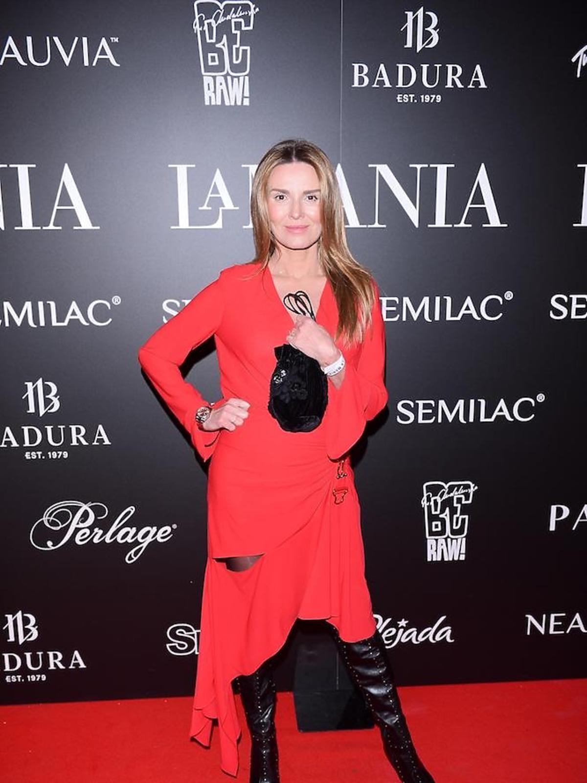 Hanna Lis na imprezie La Manii